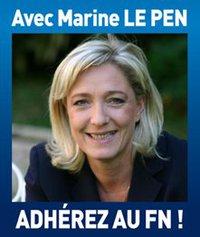 Avec Marine Le Pen, adhérez au FN !