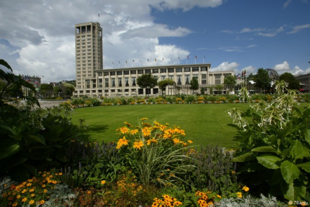 Un rassemblement contre le FN est programmé au Havre, vendredi 28 février, à 16h, dans les jardins de l'Hôtel de ville (©E. Levilly - VDH)