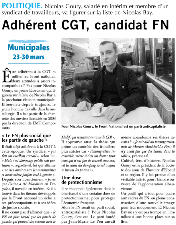 Article du Paris Normandie