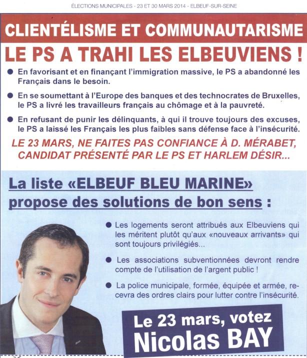 Elbeuf Bleu Marine