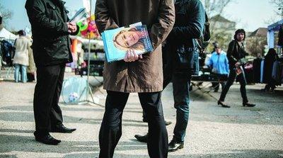 Après les réclamations reçues de la part de colistiers, la justice va enquête sur les méthodes employées par le parti de Marine Le Pen pour constituer ses listes aux élections municipales (photo AFP)